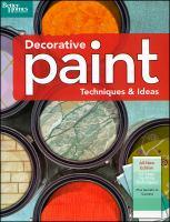 Decorative Paint Techniques & Ideas