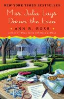 Miss Julia Lays Down the Law