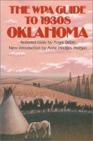 The WPA Guide to 1930s Oklahoma