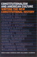 Constitutionalism and American Culture