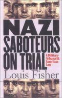 Nazi Saboteurs on Trial
