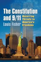 The Constitution and 9/11