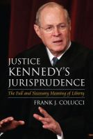 Justice Kennedy's Jurisprudence
