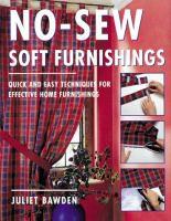 No-sew Soft Furnishings