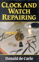 Clock and Watch Repairing