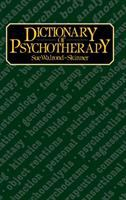 A Dictionary Of Psychotherapy
