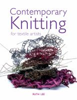 Contemporary Knitting for Textile Artists