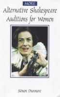 More Alternative Shakespeare Auditions for Women