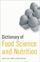 Dictionary of Food Science and Nutrition