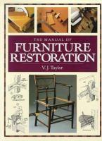 The Manual of Furniture Restoration