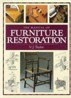 The Manual of Furniture Restoration