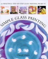 Simple Glass Painting