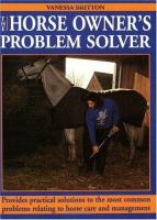 The Horse Owner's Problem Solver