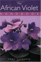 The African Violet Handbook