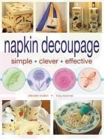 Napkin Découpage