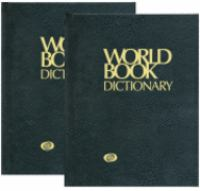 The World Book Dictionary