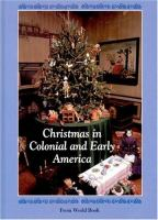Christmas in Colonial and Early America