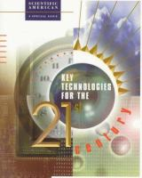Key Technologies for the 21st Century