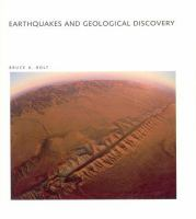 Earthquakes and Geological Discovery