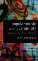 Popular Music and Local Identity