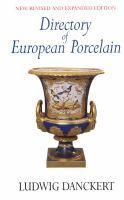 Directory of European Porcelain