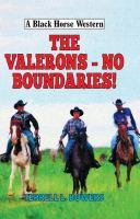 The Valerons - No Boundaries!
