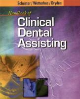 Handbook of Clinical Dental Assisting