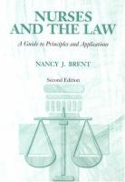 Nurses and the Law