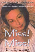 Miss! Miss!
