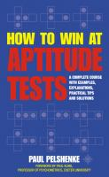 How to Win at Aptitude Tests