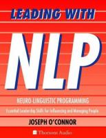 Leading With NLP (Neuro-linguistic Programming)