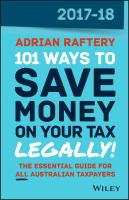101 Ways to Save Money on your Tax - Legally!