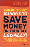 101 Ways to Save Money on your Tax Legally!