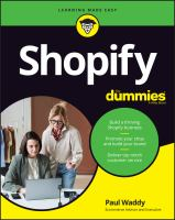 Shopify For Dummies