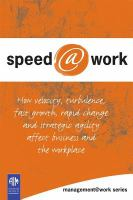 Speed@work