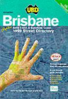 UBD Brisbane Refidex, Gold Coast & Sunshine Coast Street Directory