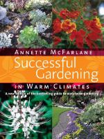 Successful Gardening in Warm Climates