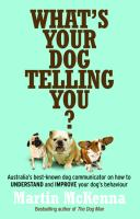 What's your Dog Telling You?
