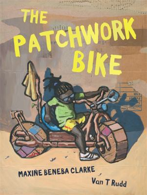 "Book Cover - The Patchwork Bike"" title=""View this item in the library catalogue"