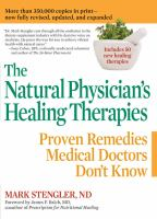 The Natural Physician's Healing Therapies, Updated