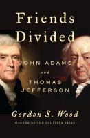 Cover of Friends Divided: John Adam