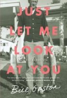 Cover of Just Let Me Look at You