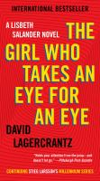 The Girl Who Ttakes An Eye for An Eye