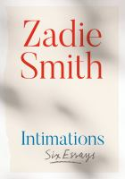 Intimations : Six Essays.