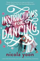 Cover of Instructions for Dancing