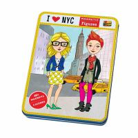 I Love NYC Magnetic Figures