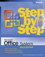 Microsoft Office System Step By Step (Step by Step)