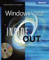 Windows Vista Inside Out
