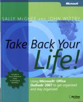 Take Back your Life!