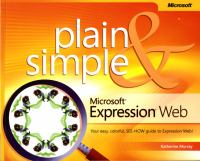 Microsoft Expression Web Plain & Simple